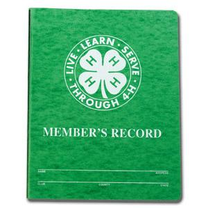 Cover photo for 4-H Record Book, Portfolio and Group Award Judges Needed!