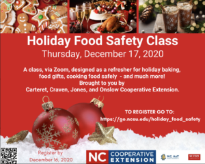 Cover photo for Holiday Food Safety - Baking and More!