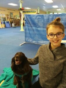 Bethany and her dog, Melody