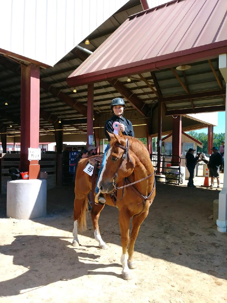 Jessica H. - 5th place in Senior Ranch Division