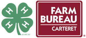 4-H and Carteret County Farm Bureau logos
