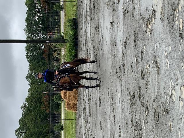 Morgan Potter riding
