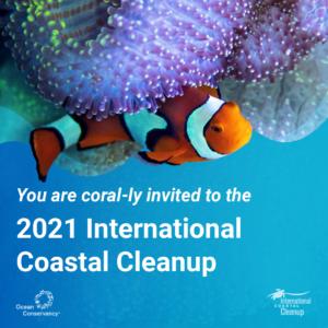 2021 International Coastal Cleanup
